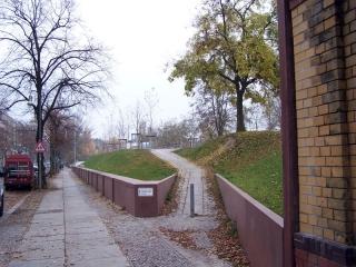 Aufgang an der Möckern/Wartenburgstraße 2012