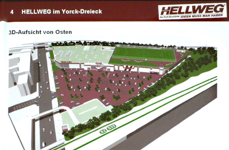 3D-Ansicht von Osten, aus der Präsentation vom 7. 10. 2010