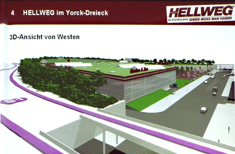 3D-Ansicht von Westen, aus der Präsenation am 7. 10. 2010