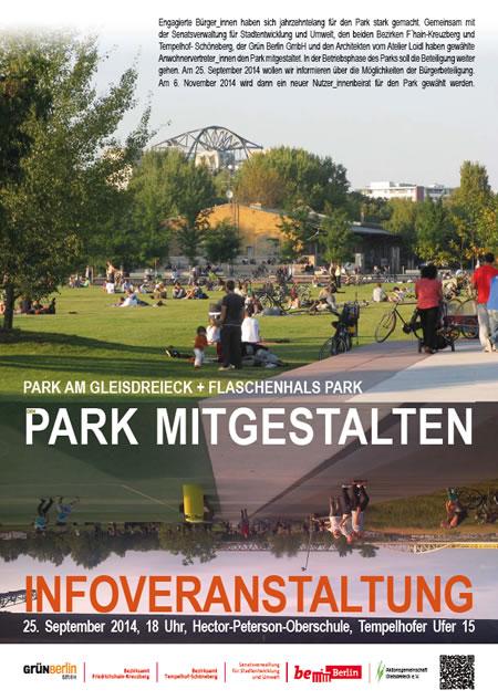 Plakt und Flyer zur Infoveranstaltung 25.09.2014