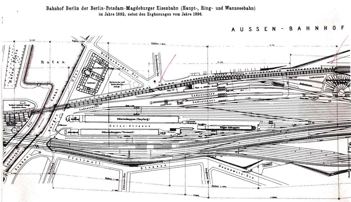 Potsdamer Güterbahnhof 1896