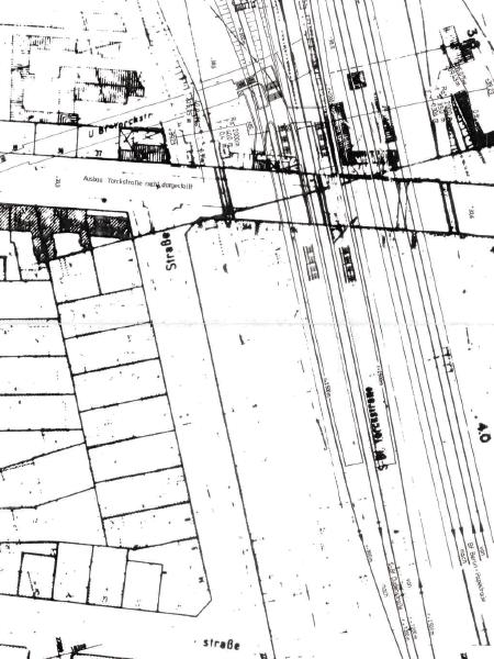 Ausschnitt Plan S21 von 1992, Seantsverwaltung Verkehr