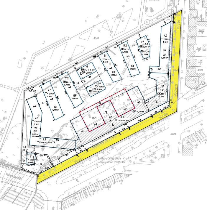 Ausschnitt aus dem B-Plan Möckernkiez