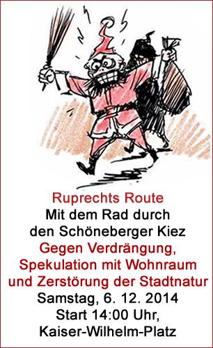 Ruprechts Route: mit dem Rad durch den Schöneberger Kiez
