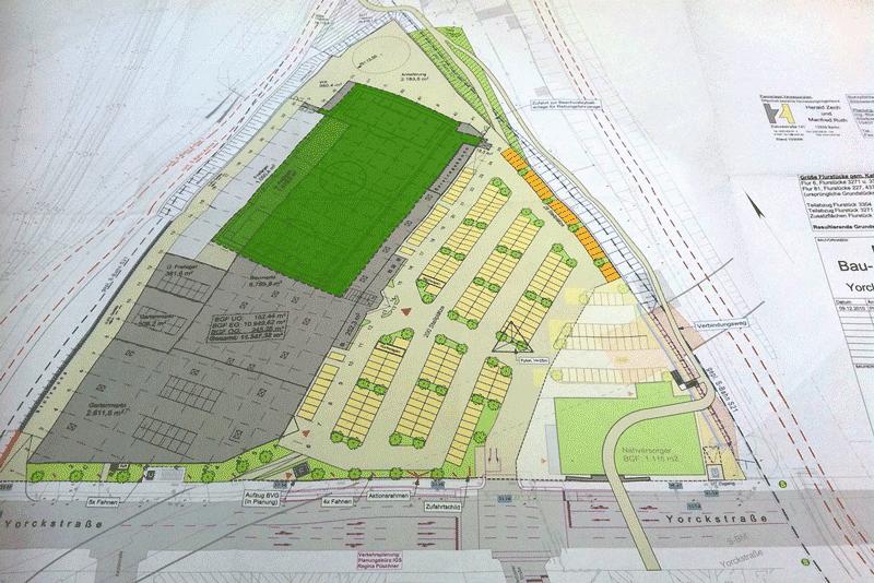 Hellweg-Planung vom Februar 2011