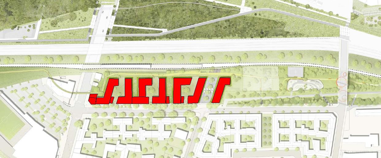 So könnte eine ehrliche Darstellung der neuen Gebäude aussehen