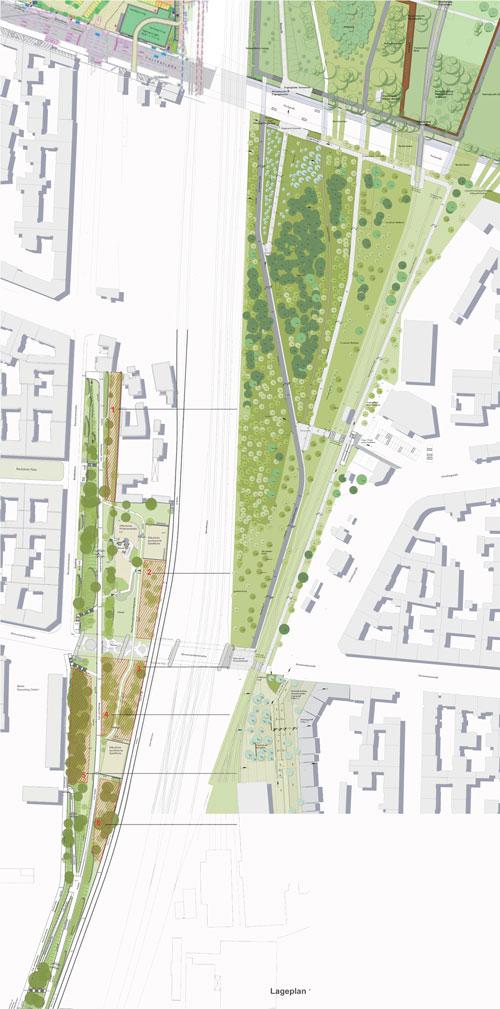 Die Planungen des Atelier Loidl und des Büros TDB im Zusammenhang gesehen