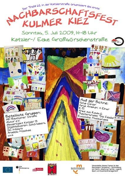 Nachbarschaftsfest Kulmer Kiez 050709